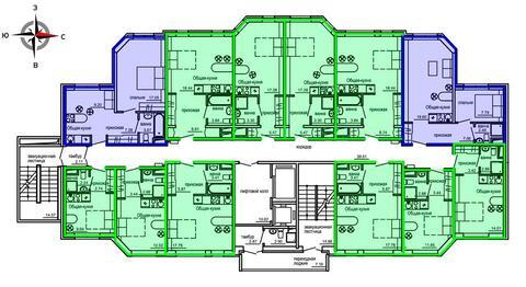 Продажа однокомнатные апартаменты 24.74м2 в Апарт-отель Юмашева 6 - Фото 2