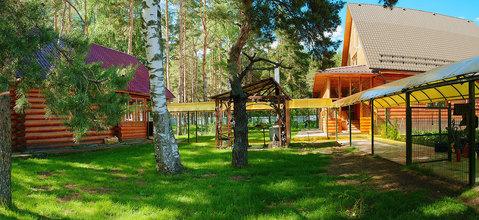 Уникальный дом в небольшом закрытом посёлке в сосновом бору. - Фото 1