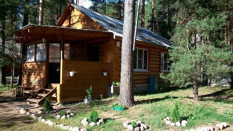 Дом в красивейшем месте Селигера, в сосновом бору, на бергу озера - Фото 1