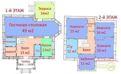 Современный коттедж 210м2 под отделку + гараж на 2 авто в Комсомольце - Фото 2