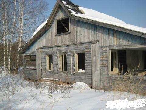Земельный участок с недостроенным домом под прописку и регистрацию. - Фото 4