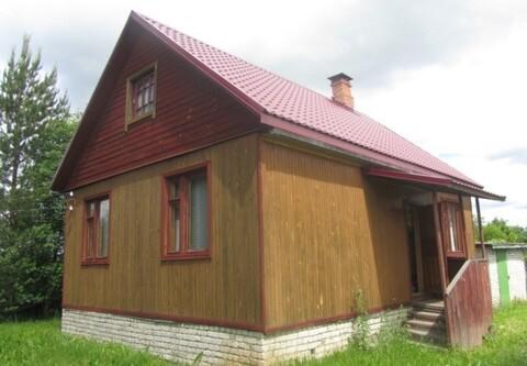 Дом с Газом, Печка, 18 соток, д. Афанасьево - Фото 1