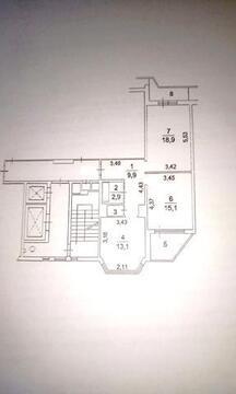 А52652: 2 квартира, Московский, м. Саларьево, Солнечная улица, д. 9 - Фото 1
