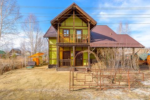 Дом 135кв.м.+10соток земли, 20км от Екатеринбурга. Решеты. СНТ - Фото 2