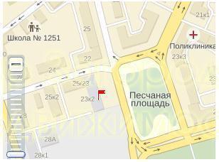Пятикомнатная Квартира Москва, улица Куусинена, д.23, корп.2, САО - . - Фото 3