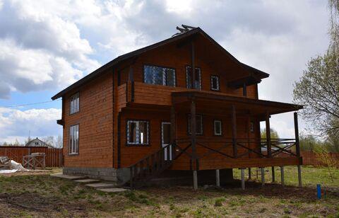 Новый брусовой утеплённый дом в 35 км от Сергиев-Посада - Фото 5