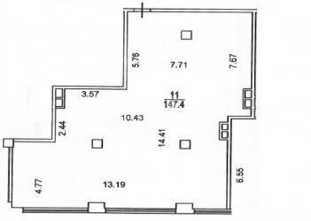 Аренда Офис 147 кв.м.