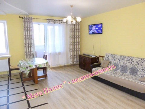 Сдается 2-х комнатная квартира 55 кв.м. в новом доме ул. Гагарина 65 - Фото 1