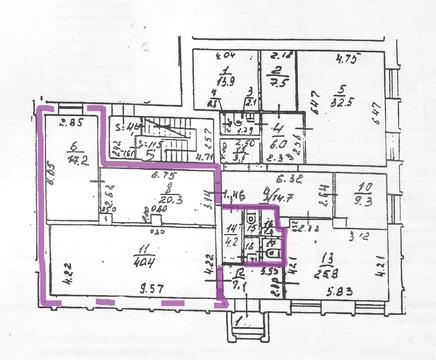 Помещение 1 этаж 95 кв.м. Подольск Б.Серпуховская 42 отдельный вход - Фото 2