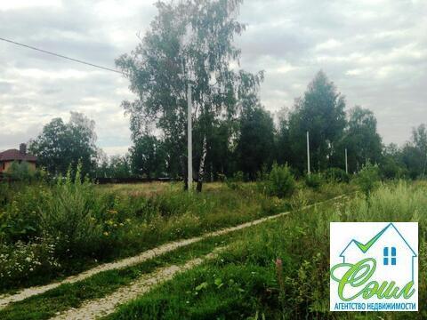 Земельный участок 12,5 соток д. Перхурово Чеховский район - Фото 3