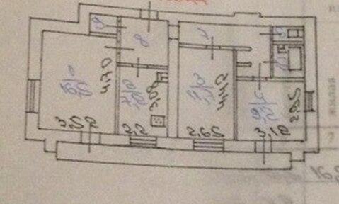 Трехкомнатная, кирпичный дом, Спортивная 8, ремонт - Фото 3