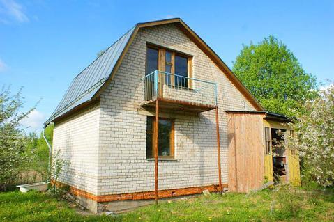 Дом в деревне Гарутино с участком для ПМЖ. Рядом водоем, лес, речка. - Фото 1