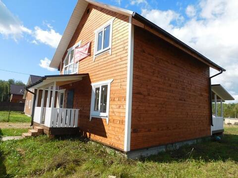 Дача готовый дом пос. Тишнево Киевское Минское шоссе - Фото 3