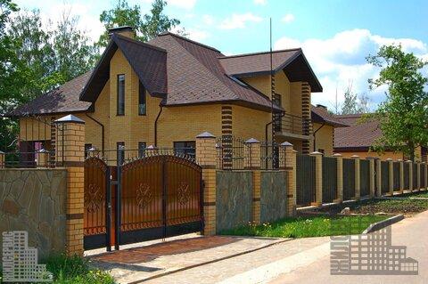 Загородный дом в ДНП Военнослужащий, 1,5км от Пироговского вдхр. - Фото 1