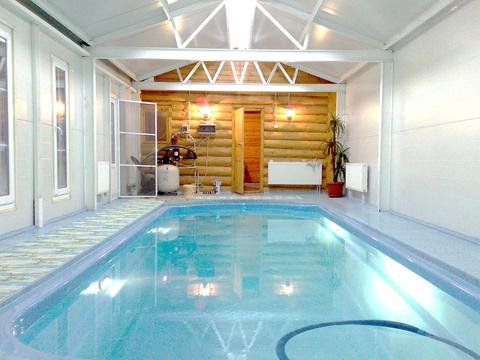 Дом для ПМЖ с бассейном в 30 км от Москвы по Минскому шоссе - Фото 1