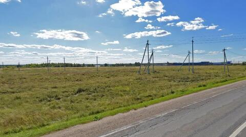 Участок 7,6 Га на 1-й линии для производства вблизи г.Чехов - Фото 1