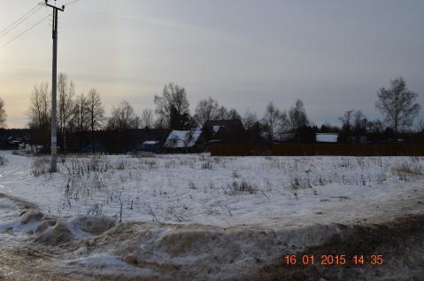 Участок 16 соток, д. Новопоречье - Фото 1