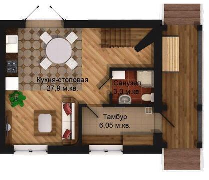 Продается дом 74 м2, Заволжский район - Фото 2