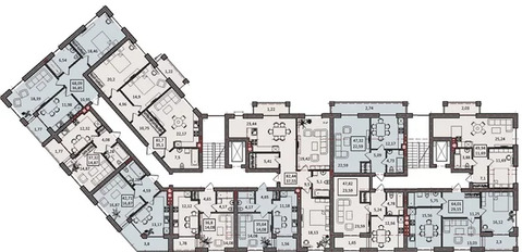 Объявление №55999744: Квартира 2 комн. Калининград, ул. Третьяковская, 3,