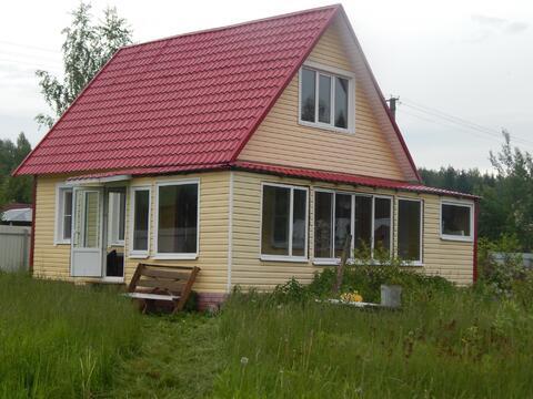 Дом 82 кв.м. участок 9,5 сот.около д. Шаликово. - Фото 1