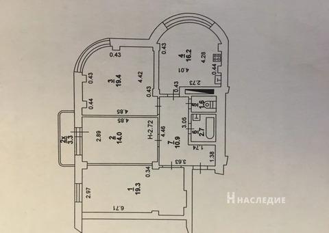 Продается 3-к квартира Оружейный - Фото 1