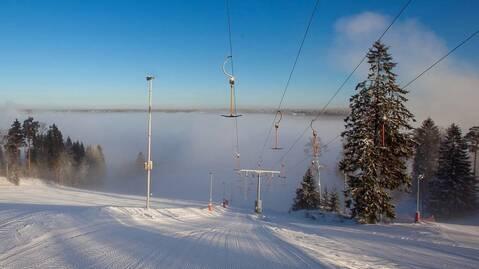 Участок 20 сот.поселок Коробицыно (горнолыжный курорт) - Фото 1