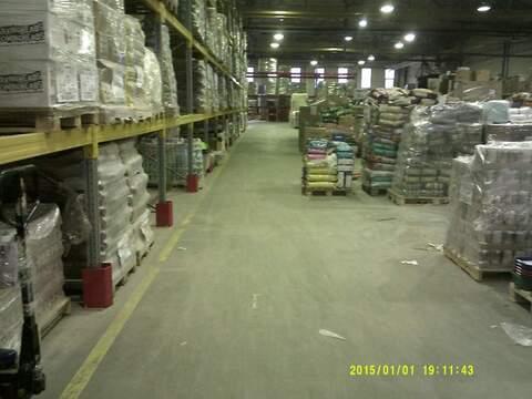 Производственно-складское теплое помещение 4930 м2 - Фото 1