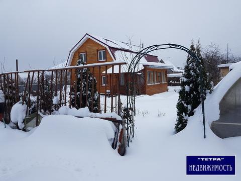 Продается дом 135 кв. м на участке 10 сот.в дер Страдань, Новая Москва - Фото 1