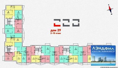 3 комнатная квартира, ул. Левина, д. 9 - Фото 5