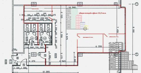 Офис 124 кв.м со свежим ремонтом, 2 кабинета, 2 с/у, юрадрес, 9 акров - Фото 4
