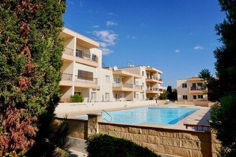 Замечательный трехкомнатный Апартамент в пригородном районе Пафоса - Фото 1