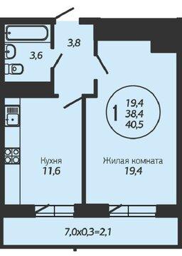 Отличная квартира в новом доме