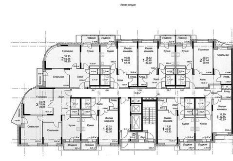 Продаю 2 комнатную квартиру, Домодедово, ш Каширское, 6 - Фото 1
