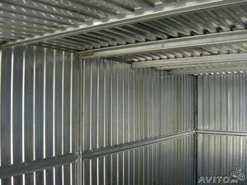Гараж металлический пенал - Фото 2
