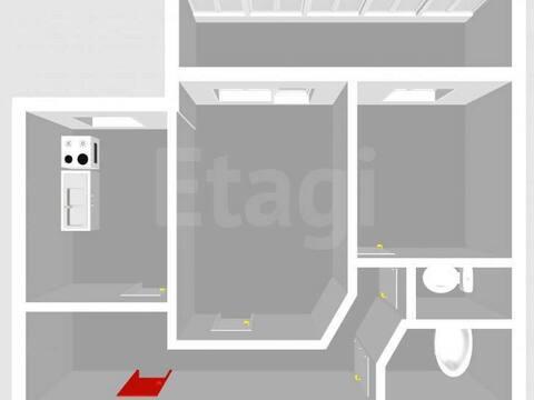 Продажа двухкомнатной квартиры на улице Артема, 149 в Стерлитамаке, Купить квартиру в Стерлитамаке по недорогой цене, ID объекта - 320177547 - Фото 1