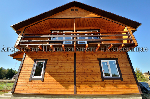 Алопово. Новый дом с панорамными окнами, теплым полом, 200 м от озера. - Фото 5