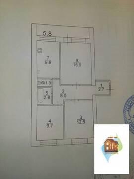 Сдаётся (2-я дачная), на длительный срок, 3-х комнатная квартира (комн - Фото 2