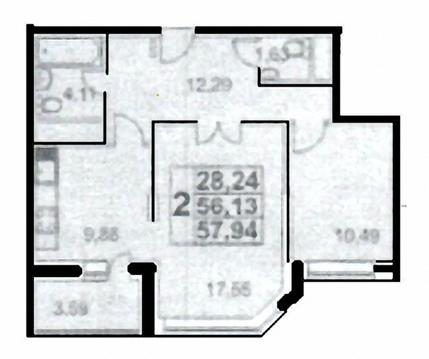 2-комнатная в Царицино - Фото 5