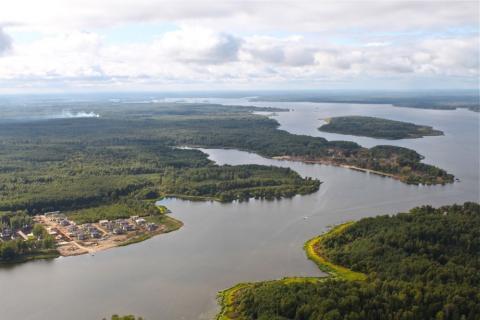 Участок 28 Га с лесом на 1 береговой линии р. Волга - Фото 3