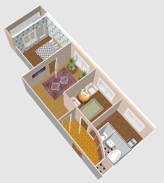Продажа 3-х комнатной квартиры на ул.Турку д.9 к.2 - Фото 4