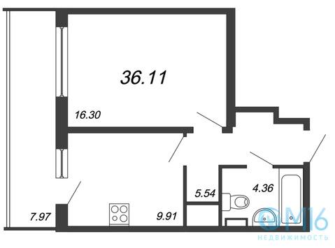 Объявление №49766630: Квартира 1 комн. Санкт-Петербург, Среднерогатская ул.,