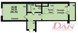 Квартира, ул. Братьев Кашириных, д.131 к.Б - Фото 5