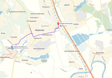 42 сотки ИЖС 13 км от МКАД д Боборыкино - Фото 4