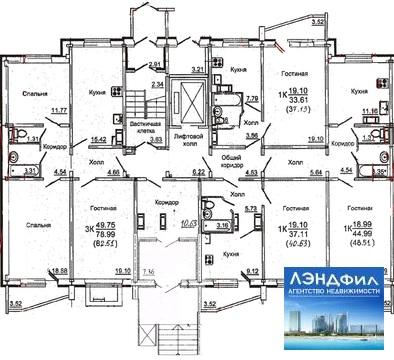 1 комнатная квартира, Уфимцева, 3а - Фото 4
