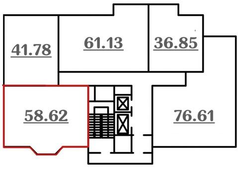 Продам двухкомнатную квартиру г. Рязань, ул.Шереметьевская - Фото 2