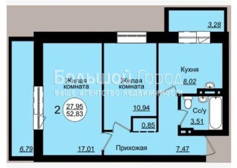 1 950 000 Руб., Продажа квартиры, Новосибирск, Ул. Чукотская, Купить квартиру в Новосибирске по недорогой цене, ID объекта - 329413121 - Фото 1