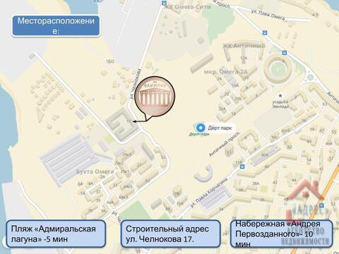 Двухкомнатная квартира премиум класса в новом доме. Севастополь - Фото 4