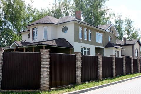 Большой дом в лучшем поселке бизнес класса Гайд Парк на Калужском ш. - Фото 1