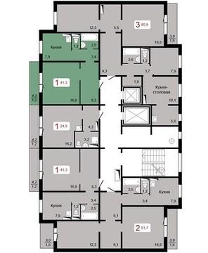 Продам 3-комн. квартиру 79,5 кв.м. ул. Серова дом 8 - Фото 2