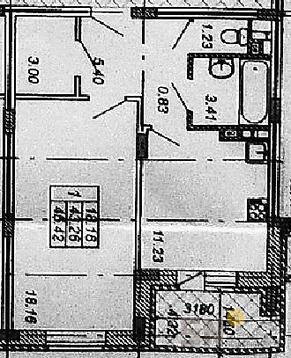1-ком квартира в Юрьевце - Фото 1